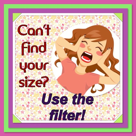Other - Too much to look at? Filter your size!
